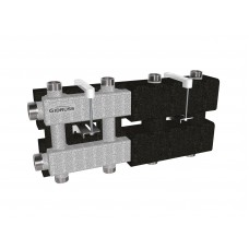 MK-100-4DU.EPP (до 100 кВт, 2 магистрали G 1¼″, 2+2 контура G 1″, EPP-термоизоляция)