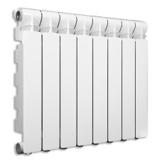 Радиатор EXTRATHERM80 500/80 БЕЛЫЙ, 10 секц.