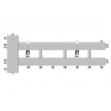 Балансировочный коллектор BM-150-4D (гидрострелка до 150 кВт с коллектором на 4 контура)